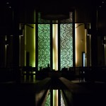 Silhouette fine art hotel reception architecture Thailand Railay
