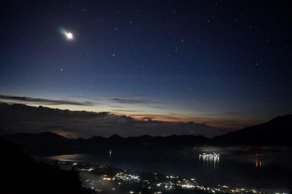 Lake Batur at Night