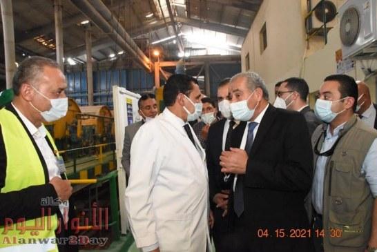 بالصور.. وزير التموين: كفر الشيخ بها 10 مراكز مطورة ولا توجد ازمات في السلع الغذائية