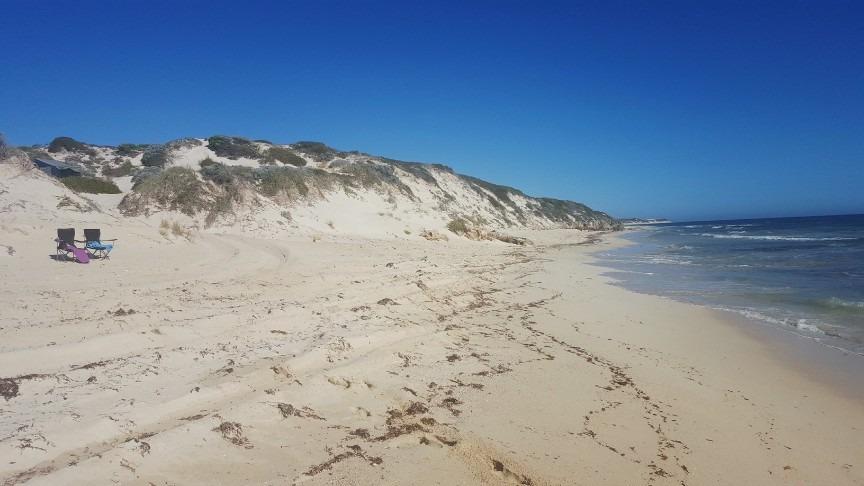 4WDing in Wilbinga, Western Australia