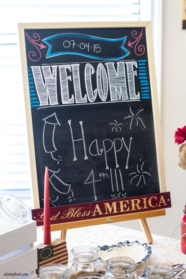 Easy 4th of july entertaining tips a latte food for Easy entertaining tips