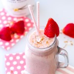 Tropical Pineapple Strawberry Smoothie