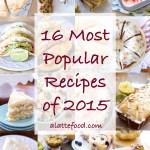 16 Most Popular Recipes of 2015