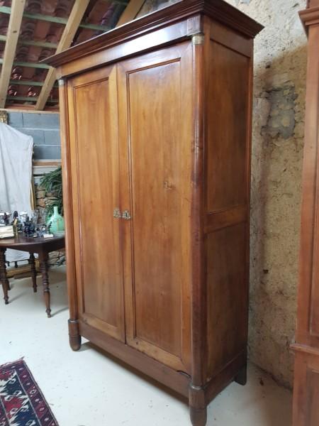 petite armoire empire en cerisier albert antiquit