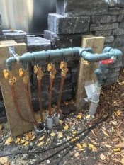 outdoor gas manifold