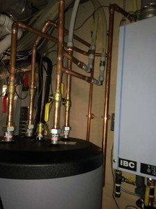hydronic water boilers