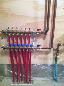Hydronic Slab Heating