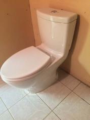 Toilet installed in Edmonton