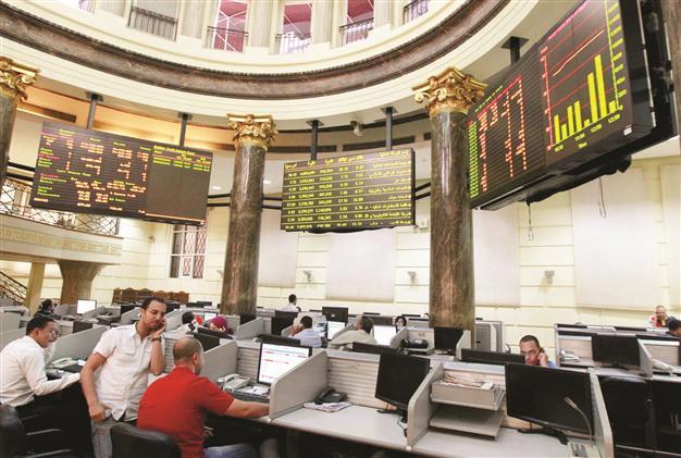 البورصة ترتفع 3.2% وتوقعات بتذبذب السوق اليوم حال عدم تحريك سعر الصرف