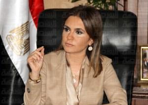 وزيرة التعاون الدولي
