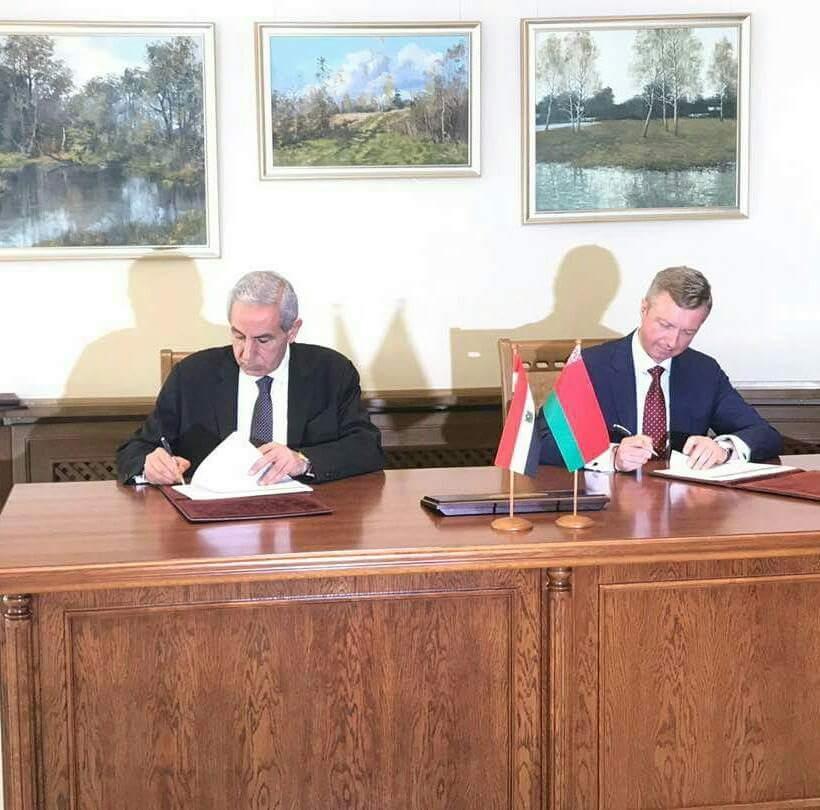 مصر  و بيلاروسيا  توقعان خارطة طريق لتعزيز العلاقات الاقتصادية - جريدة البورصة