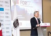 Miguel Ángel Mancera, jefe de Gobierno de la Ciudad de México.