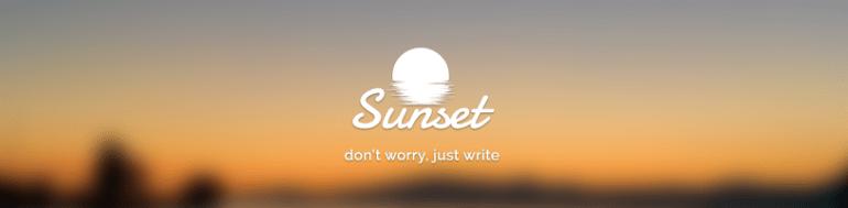 sunset_row