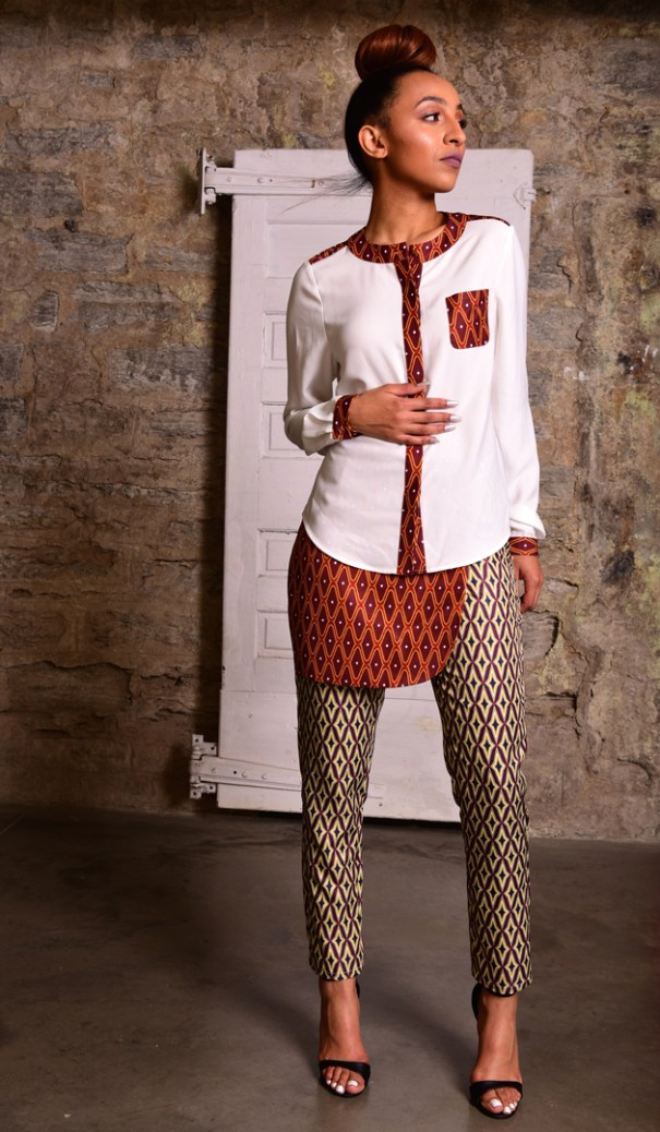 fashion prints, saintola, patterns, trousers, outfit
