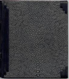 P.A.B. – La Carotide Uno della serie di 7 volumetti ognuno con legatura in galuchat di colore diverso e parti in ebano sagomati in  varie forme
