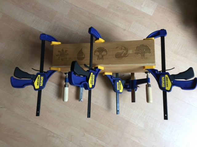 Nest of clamps