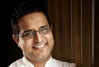 Atul Kochhar, at the Globe & Rainbow