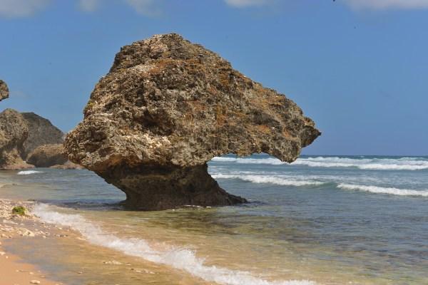 Bathsheba rock, Barbados