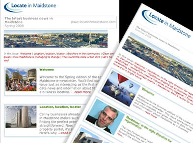 Locate in Maidstone newsletter