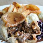 Steak and ale suet pudding