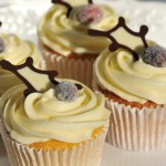 White chocoate cup cake