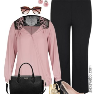 Plus Size Office Romance Outfit - Plus Size Work Outfit - Plus Size Fashion - alexawebb.com #alexawebb