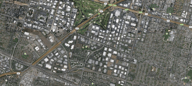 Silicon Valley google map