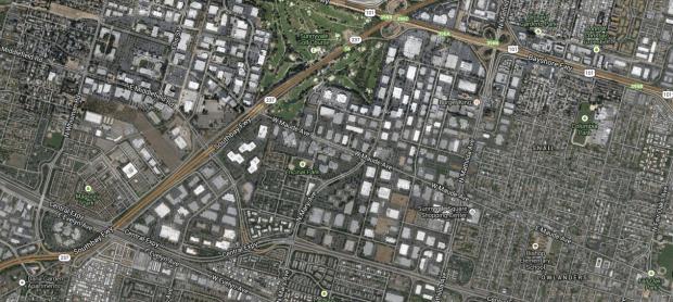 Silicon Valley google map