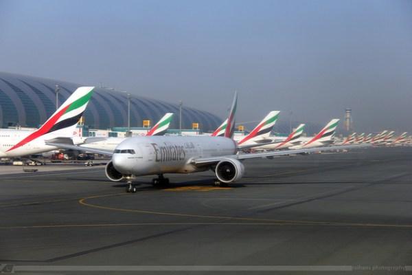 Dubai International Airport. CC image from Raihan S.R. Bakhsh