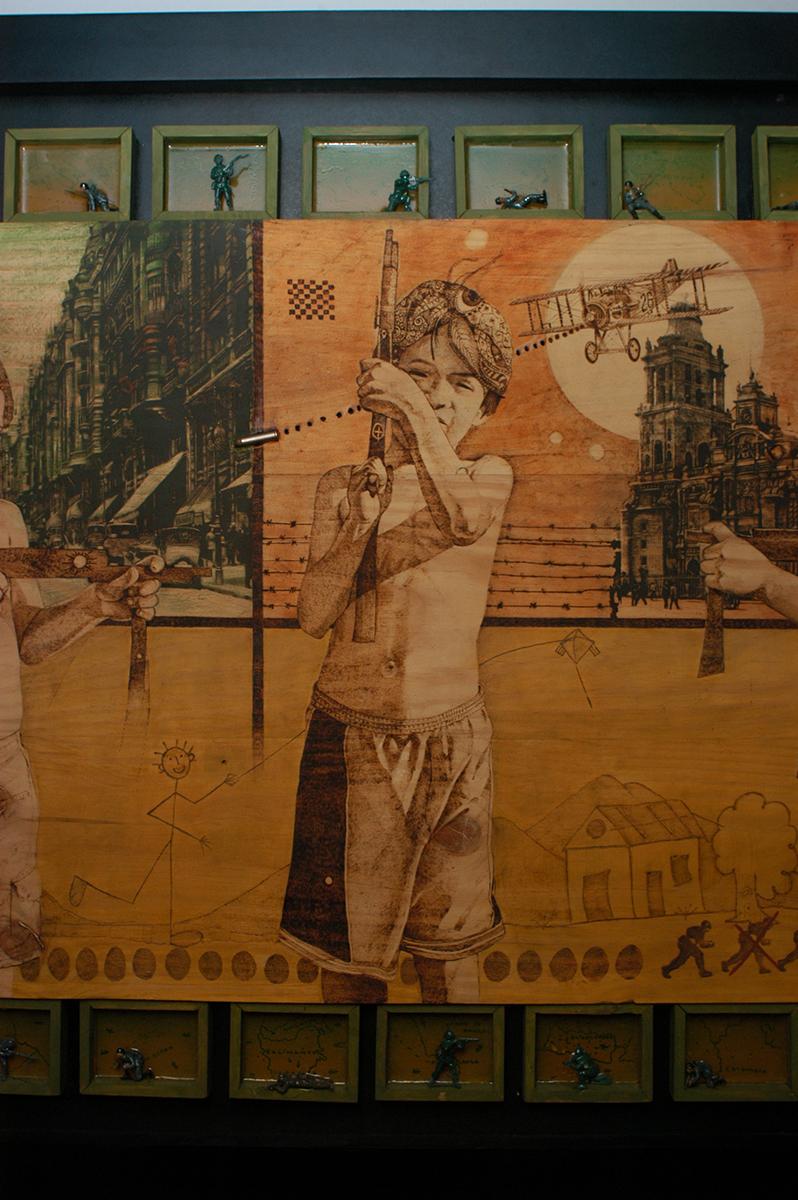Detalle de juegos de un mayor - Alex Cuchilla - El Salvador