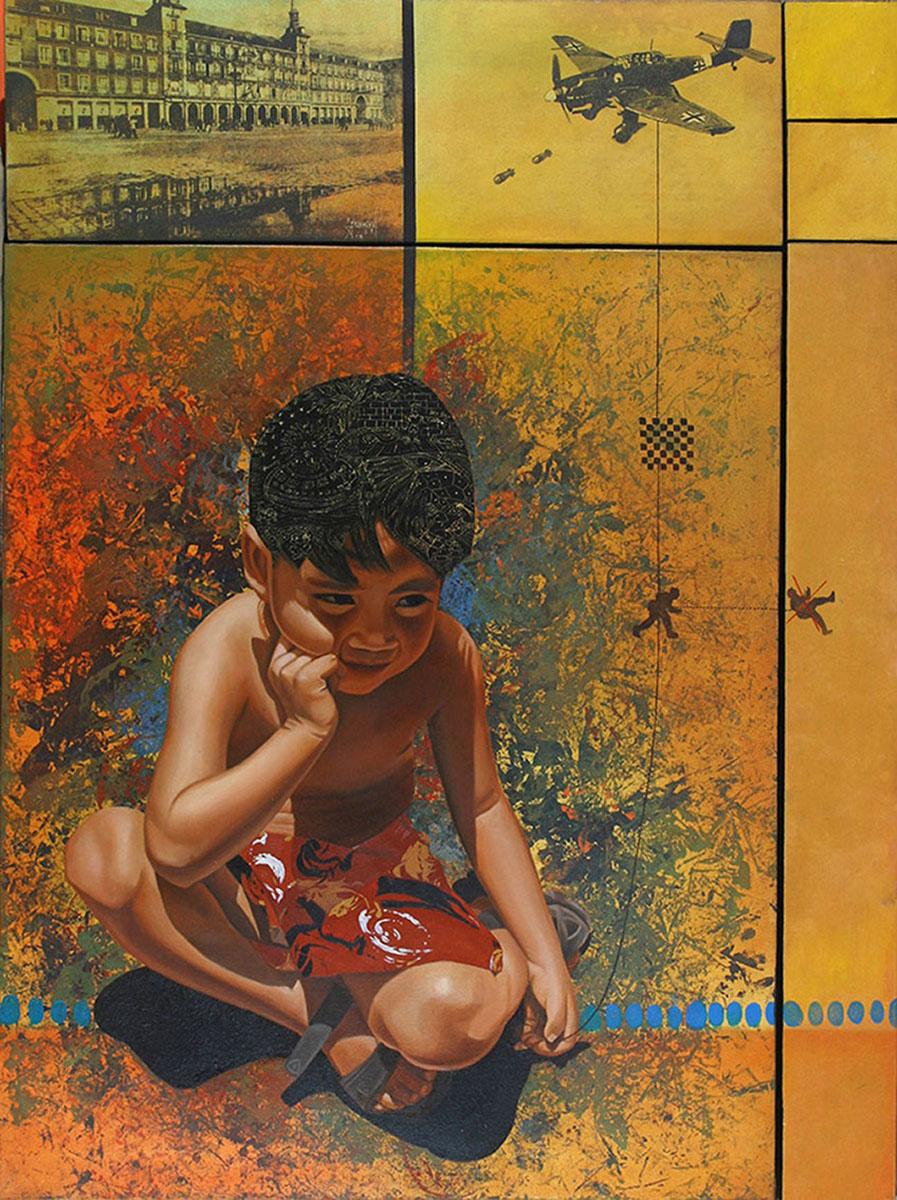 El Ladrón de sueños 2 (políptico) - Alex Cuchilla - El Salvador