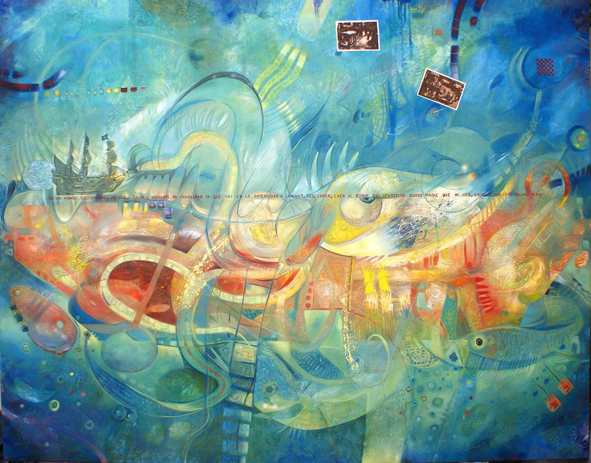Peces de ciudad 5 - Alex Cuchilla - El Salvador