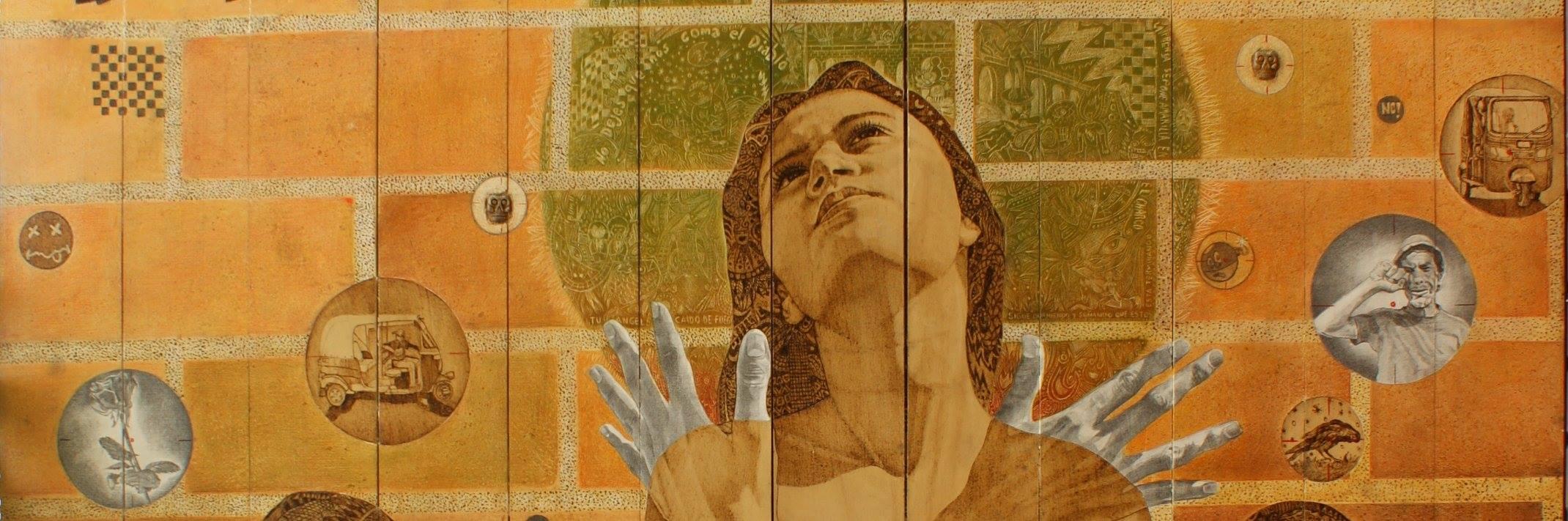 Tu ángel de fuego detalle 2 - Alex Cuchilla - El Salvador