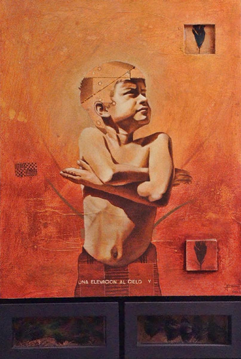 Una elevación al cielo - suelo - Alex Cuchilla - El Salvador