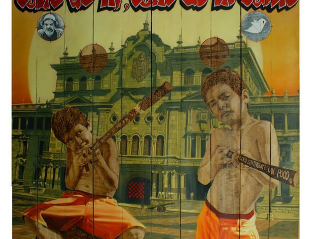 Entre caníbales - Alex Cuchilla - El Salvador