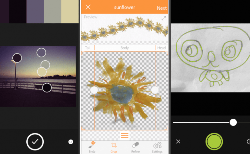 Adobe Color, Brush, and Shape mobile apps