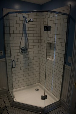 Small Of Subway Tile Shower