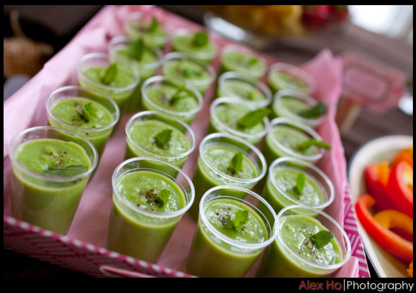 peashooters Baby Shower Decoration