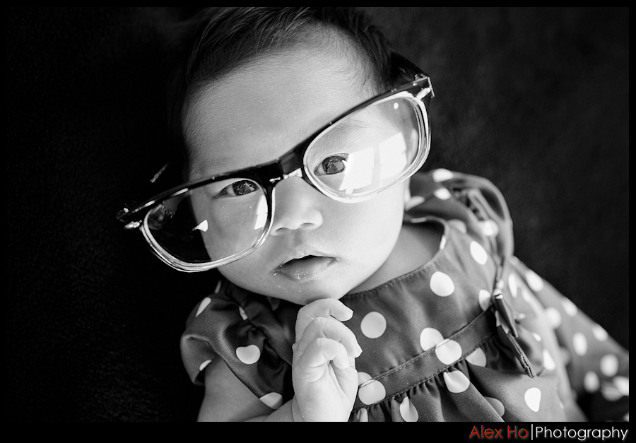 baby glasses Newborn Baby Riley Portraits