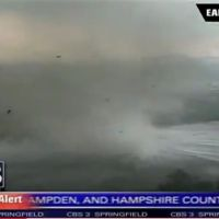 Springfield Tornado Becomes a Water Spout