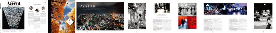 Spread of photos in Mexico Airlines' magazine 'Accent' to accompany a short story by Santiago Roncogliolo