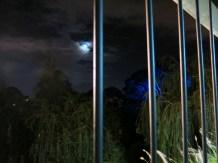 Luna desde el balcón