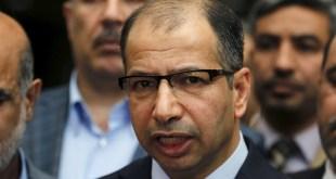 الإفراج عن رئيس البرلمان سليم الجبوري وذلك لعدم كفاية الأدلة المتوفرة