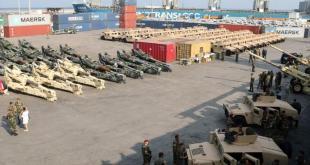 شحنة من المساعدات العسكرية الأمريكية بقيمة 50 مليون دولار  للبنان