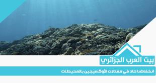 انخفاضا حاد في معدلات الأوكسيجين بالمحيطات