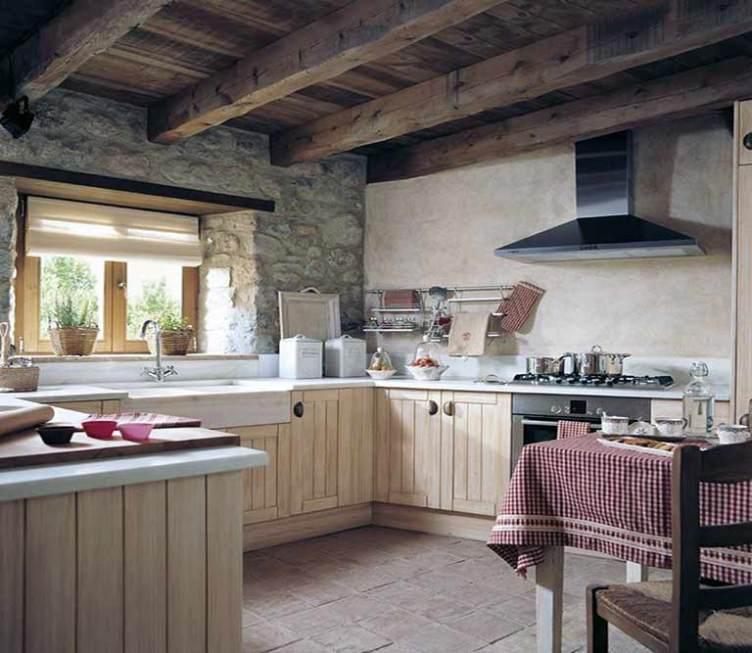Como decorar una cocina estilo rústico