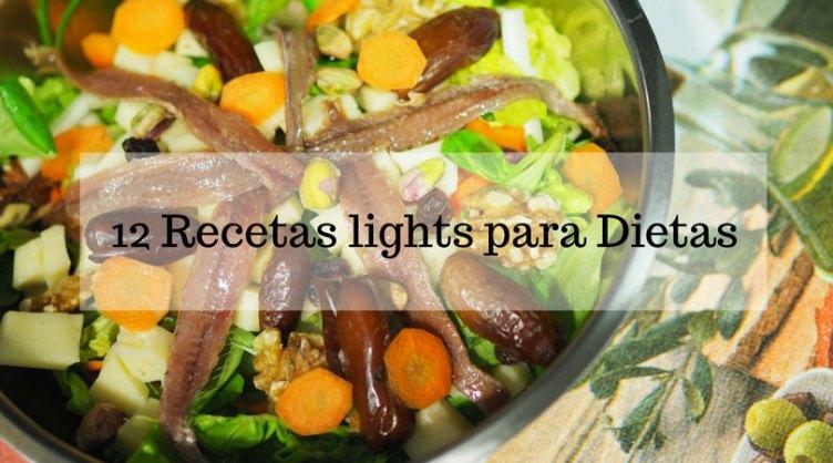 12 recetas lights ideales para dieta