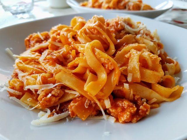 tallarines boloñesa - la cocina de pedro y yolanda