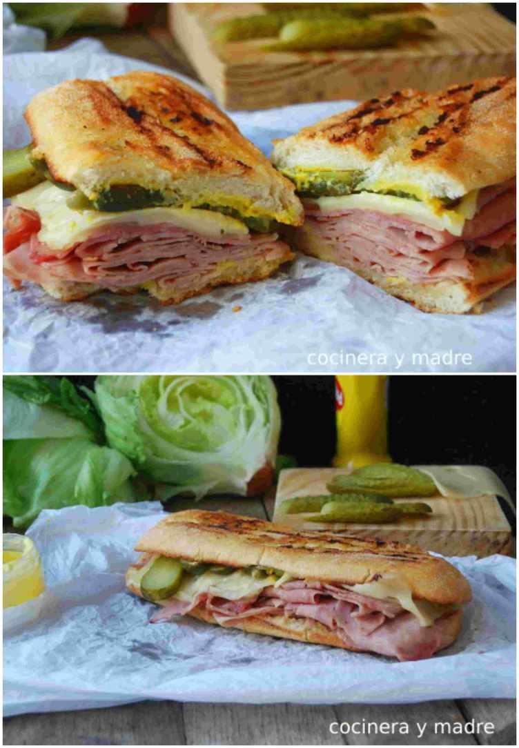 Sándwich cubano de la película chef