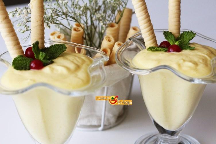 Mousse de mango muy fácil